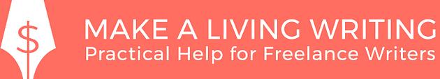 Make a Living Writing Logo