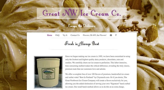 GNICC website designed by Peter Chordas