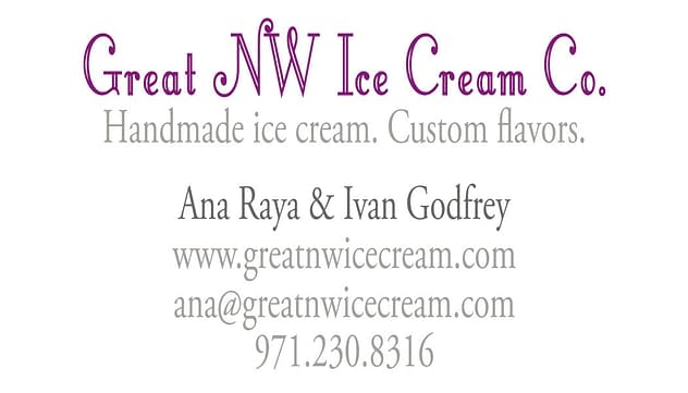 Great NW Ice Cream Co. back