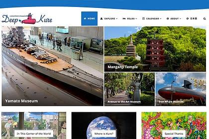 Deep Kure website in English