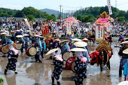The Rice Planting Dance of Mibu
