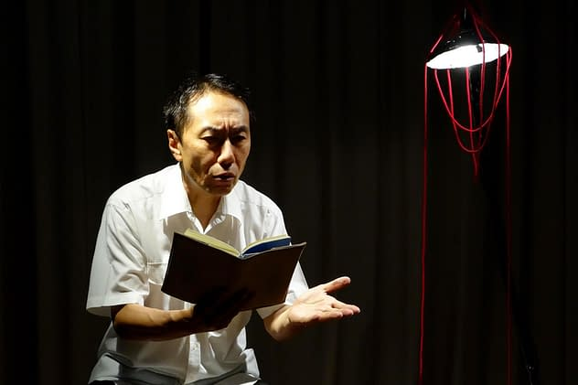 """Tatsushi Amano performs """"Living with Father"""""""