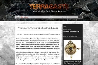 Terragaste Website designed and written by Peter Chordas