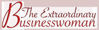 The Extraordinary Businesswoman Logo