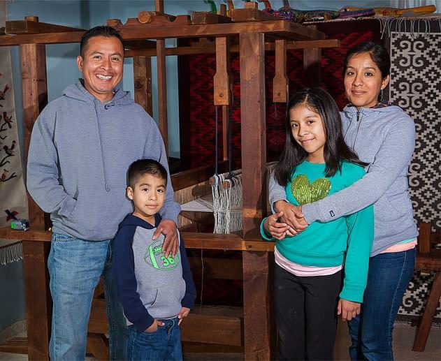 The Bautista Family, Bautista Weaving