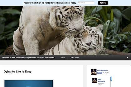 MMA Spirituality Website designed by Peter Chordas