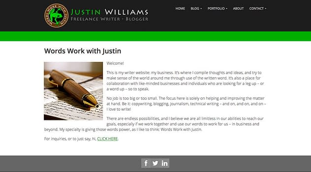 Words Work with Justin