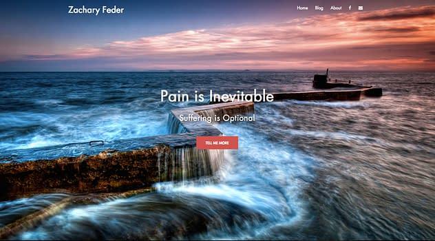 Zachary Feder's website