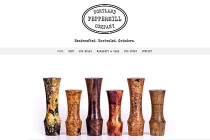 Portand Peppermill Company website