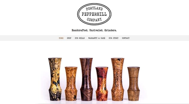 Portand Peppermill Company website