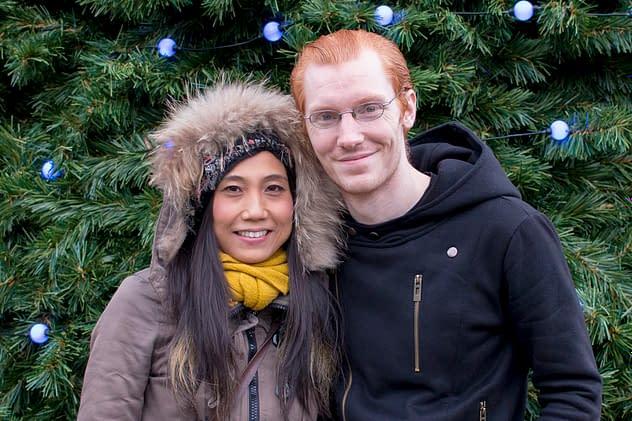 Peter and Hisako, December 2015