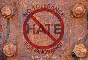 Stop Hate: No Tolerance for Ignorance #fightignorance #stopbigotry