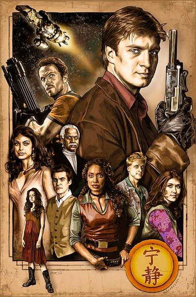 Epic Firefly poster by Odysseyart