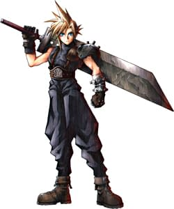 Cloud Strife: sword fighting with everything since 1997