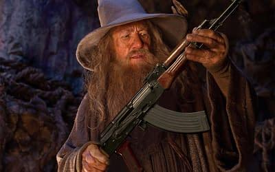 Gandalf with an AK-47