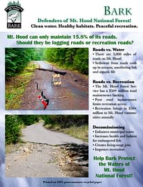 Recreation Roads vs. Logging Roads designed and written by Peter Chordas
